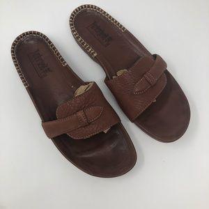 Timberland Smart Comfort System Leather Slides